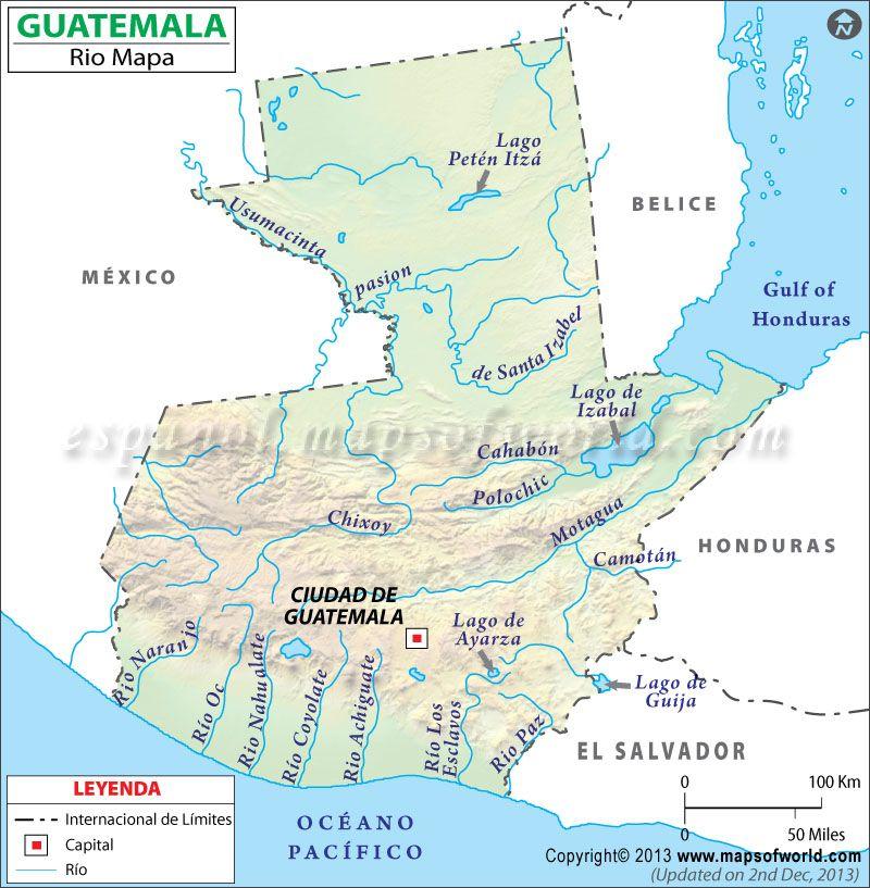 Rios de Guatemala | aleman | Pinterest