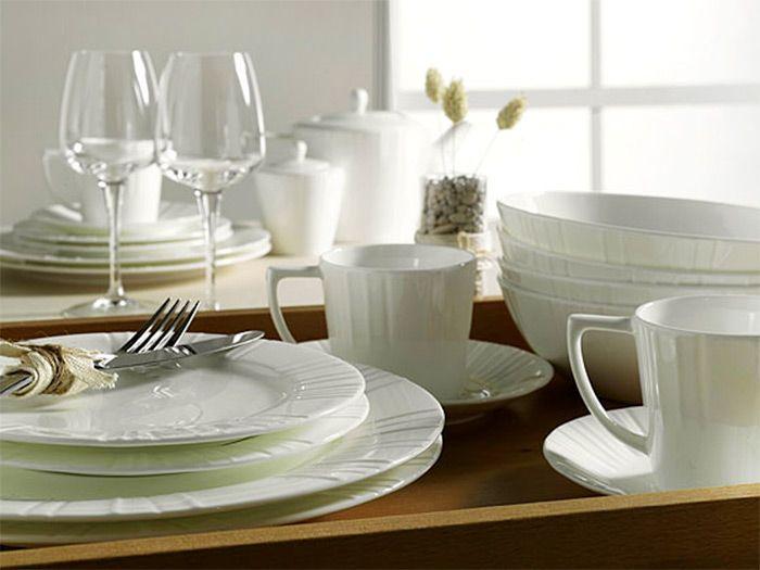 Фото красивой столовой посуды