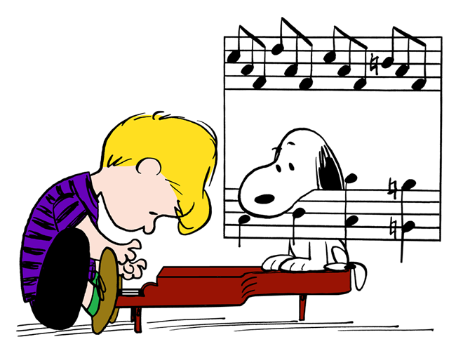 Pin By Carleen Sieggreen On Peanuts Snoopy Charlie Brown Piano