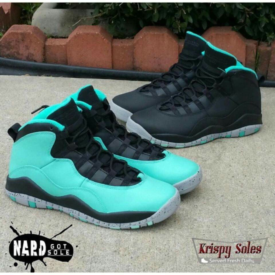 best loved 3e269 ae369 Custom Tiffany 10 and black liberty 10 | must have kicks ...