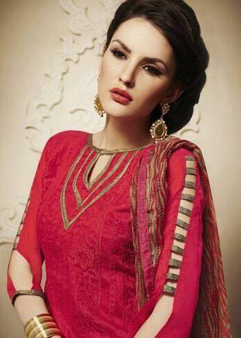 Pin by Anokhi Fashion on DARMI COOL - CHANDERI SUIT | Pinterest ...