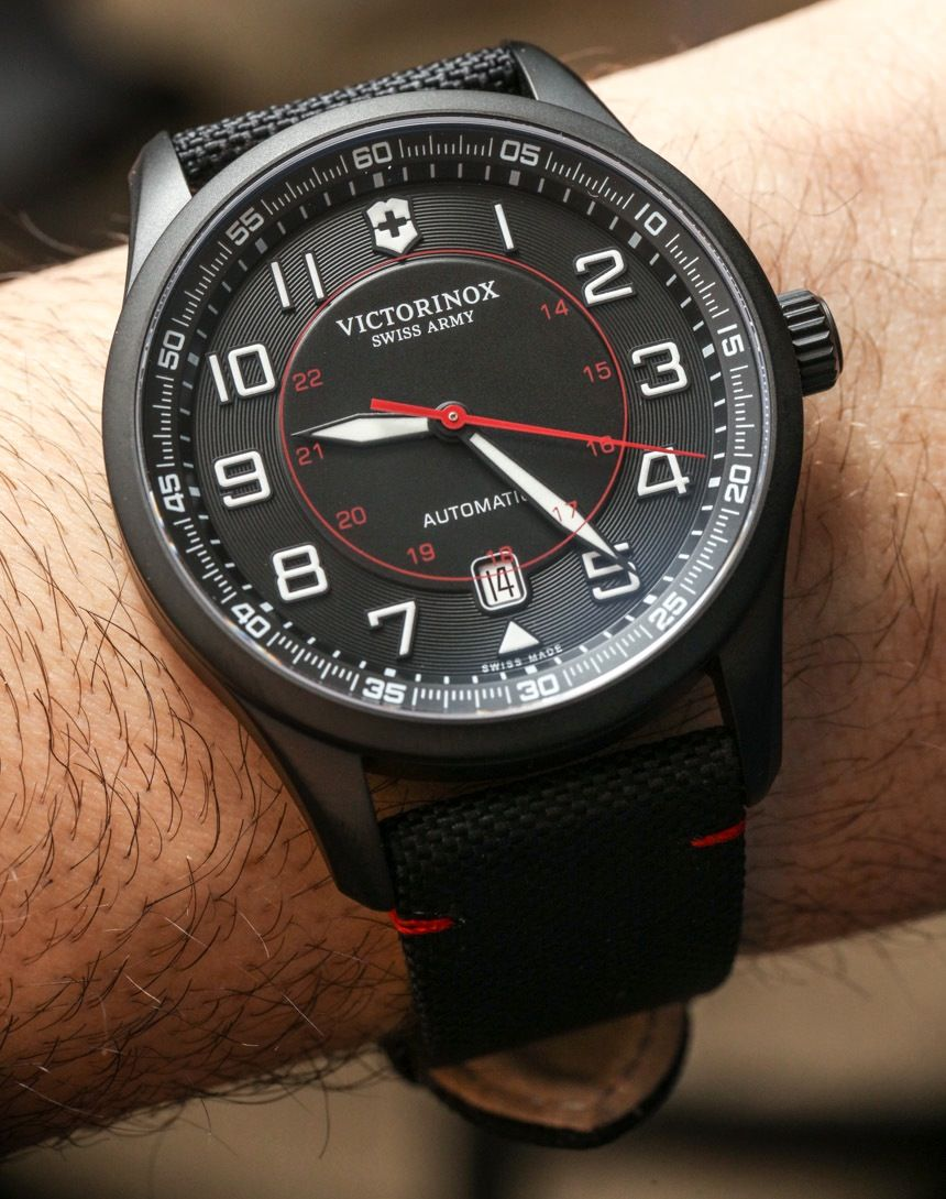 Victorinox Swiss Army Airboss Mechanical Ref. 241720 Watch Review - by  Ariel Adams - see e90fca79a7a