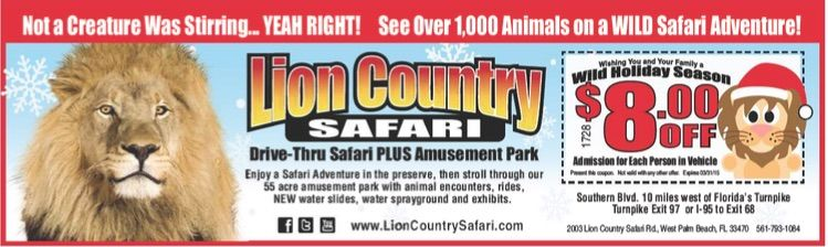 Lion Safari West Palm Beach Coupon The Best Beaches In World
