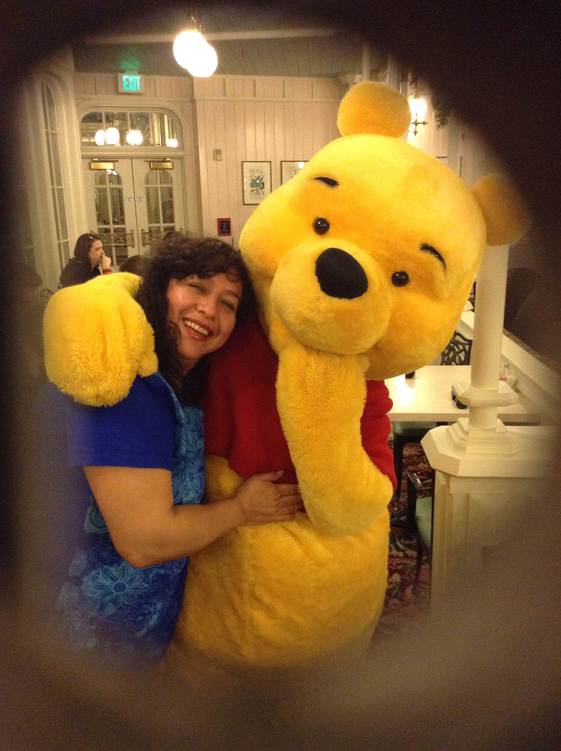 Con Winnie Pooh
