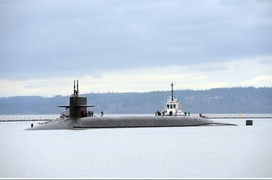 -Boomer USN Navy US Naval submarine USS CASIMIR PULASKI SSBN 633