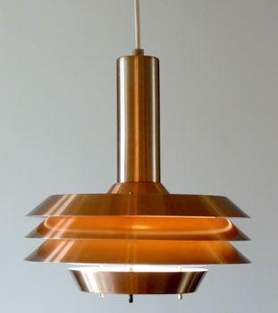 1970s Scandinavian-style ceiling light