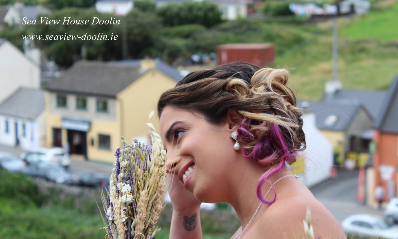 eloping to ireland hair and makeup   wedding hair and makeup