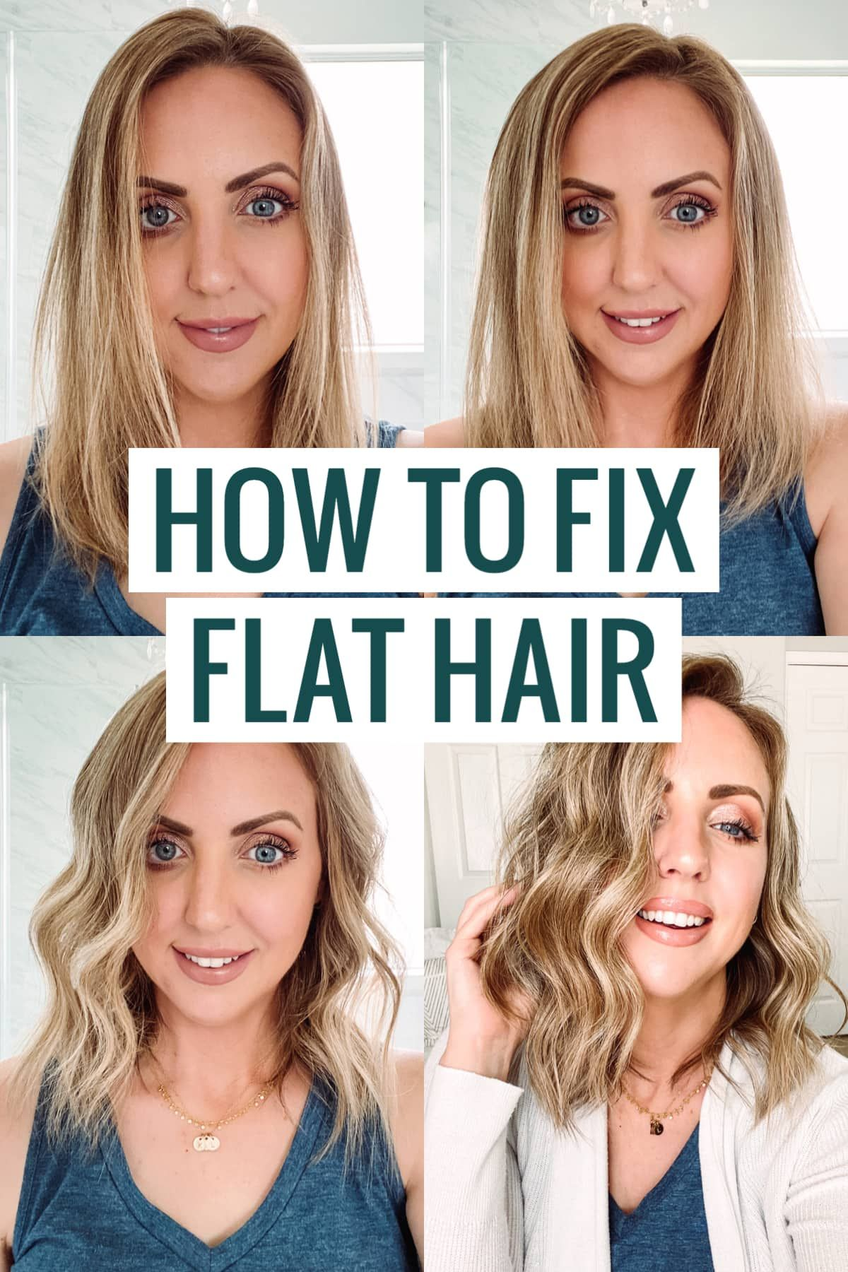 How to fix flat hair bed head little tease review demo
