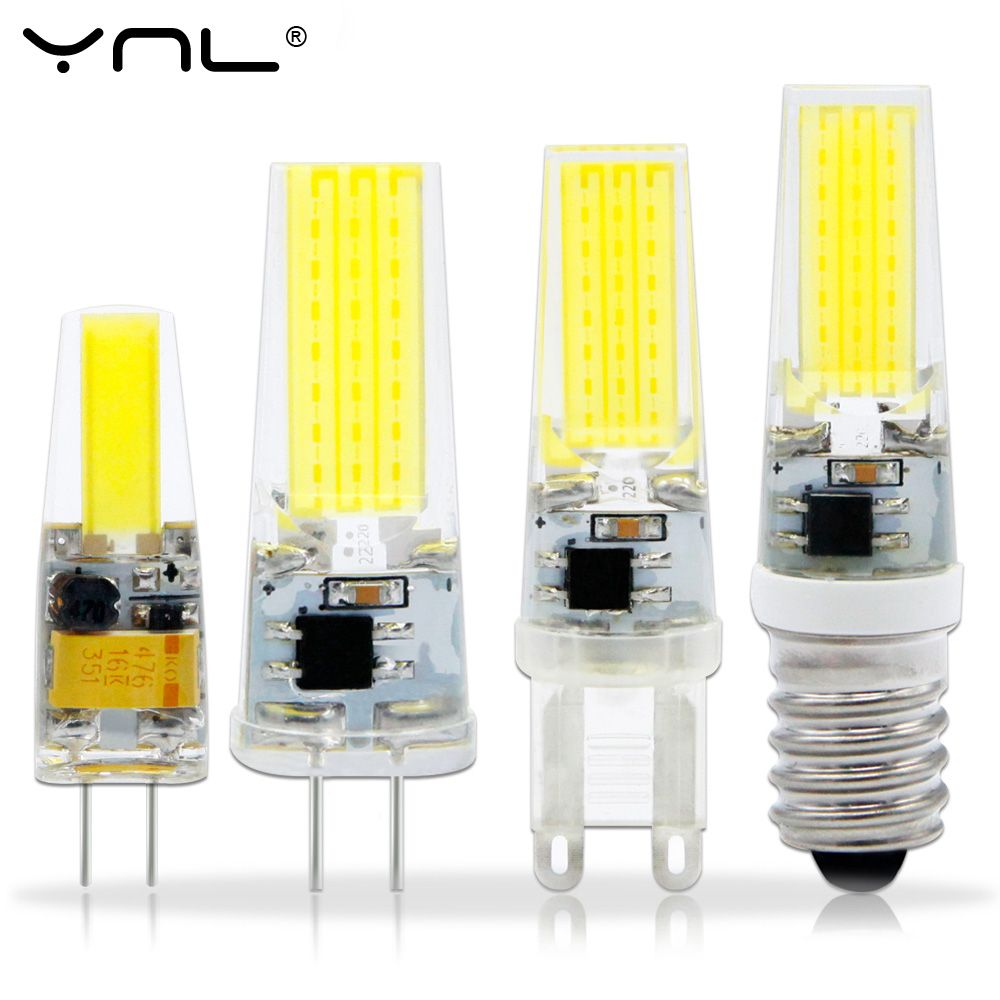 Mini Led Lamp G4 G9 Ac Dc 12v 220v 3w 2w Cob Led G4 G9 Bulb Dimmable 360 Beam Angle Replace Halogen Chandelier Lights Aff Bulb Chandelier Lighting Led Bulb