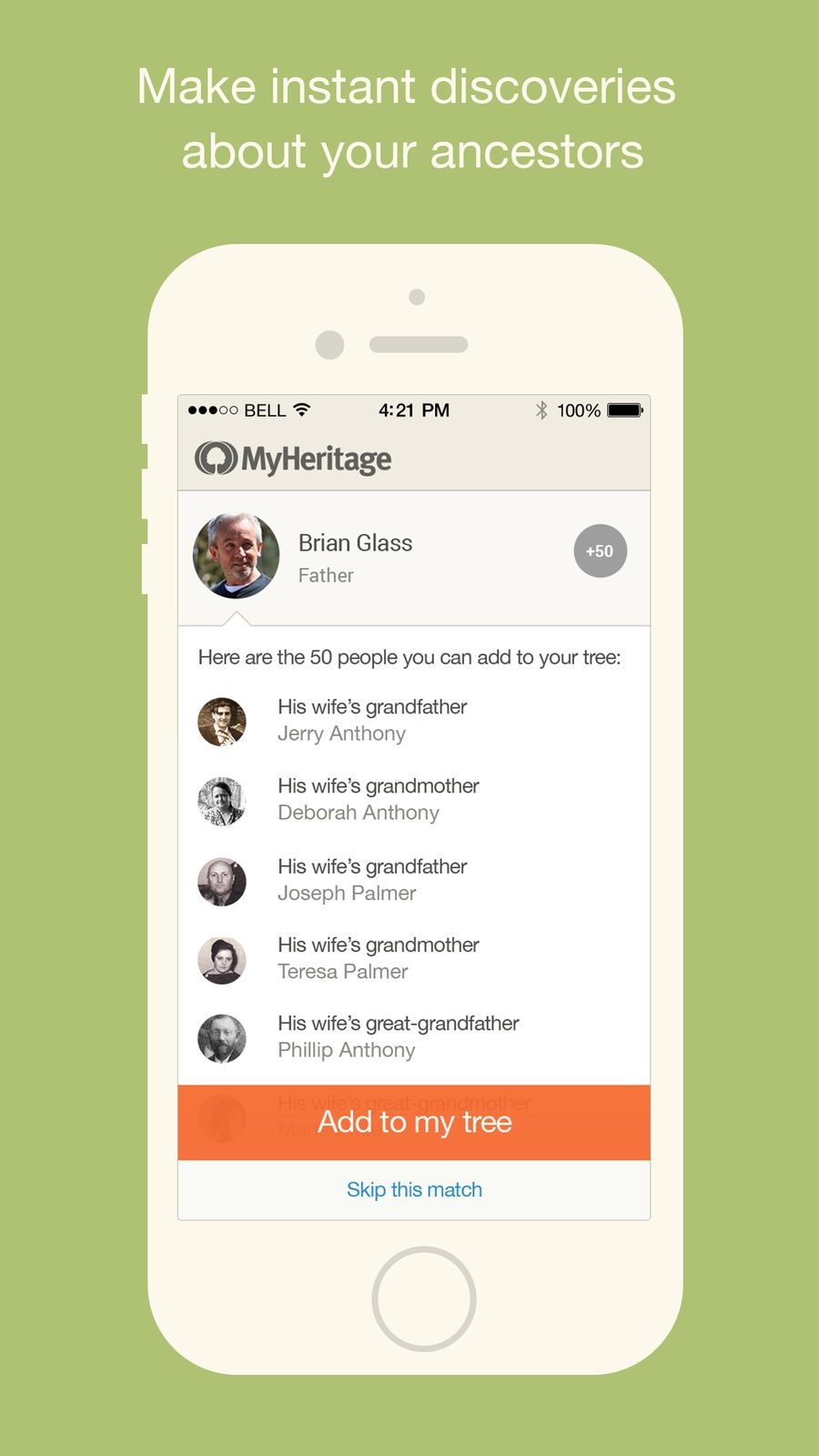 MyHeritage Family tree iosLifestyleappapps Family