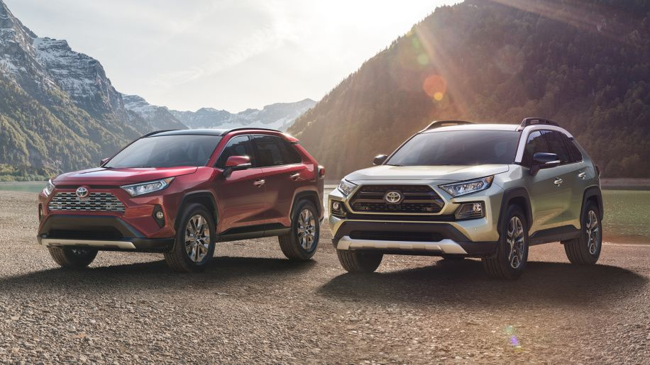 Toyota Rav4 Brings Ft Ac Concept To Life At New York Show Toyota Rav4 2019 Toyota Rav4 Hybrid Toyota Rav4