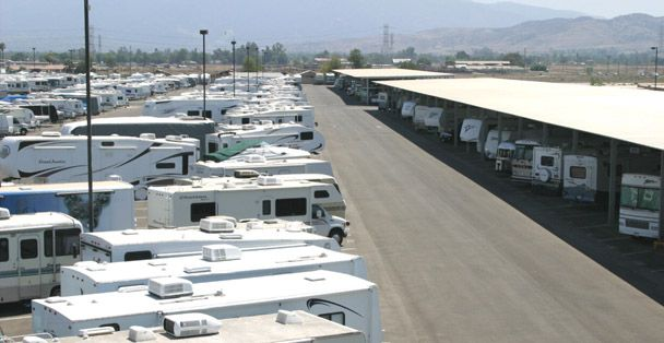 Im Employed At McBrides RV Storage Corona CA In The Heart Of Orange County  California.