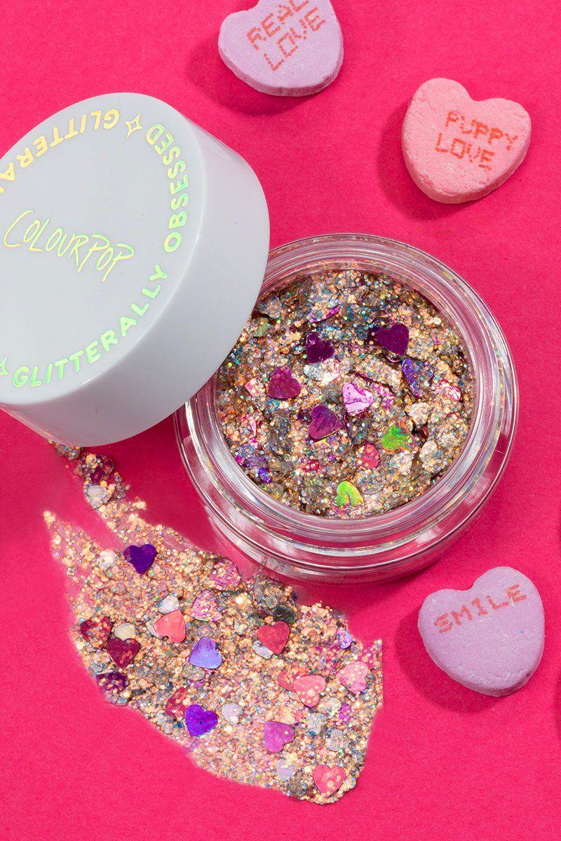 Frozen Hearts Glitter Gel