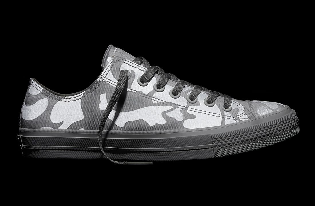152c68065802 Converse - Chuck Taylor All Star II Reflective Camo - White - Low ...