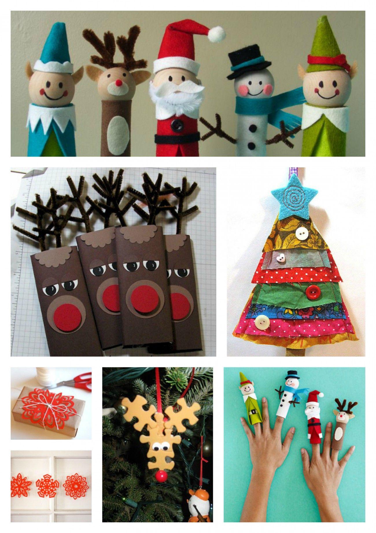 Kerst Knutselen Met Kinderen Knutselen Christmas Crafts For Kids