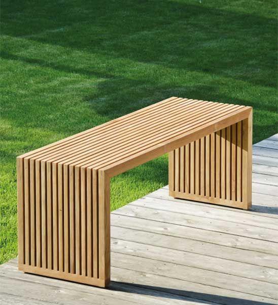 Gartenbank Teak Tivoli 120 Cm Im Greenbop Online Shop Kaufen Diy Gartenmobel Sitzbank Garten Im Freien
