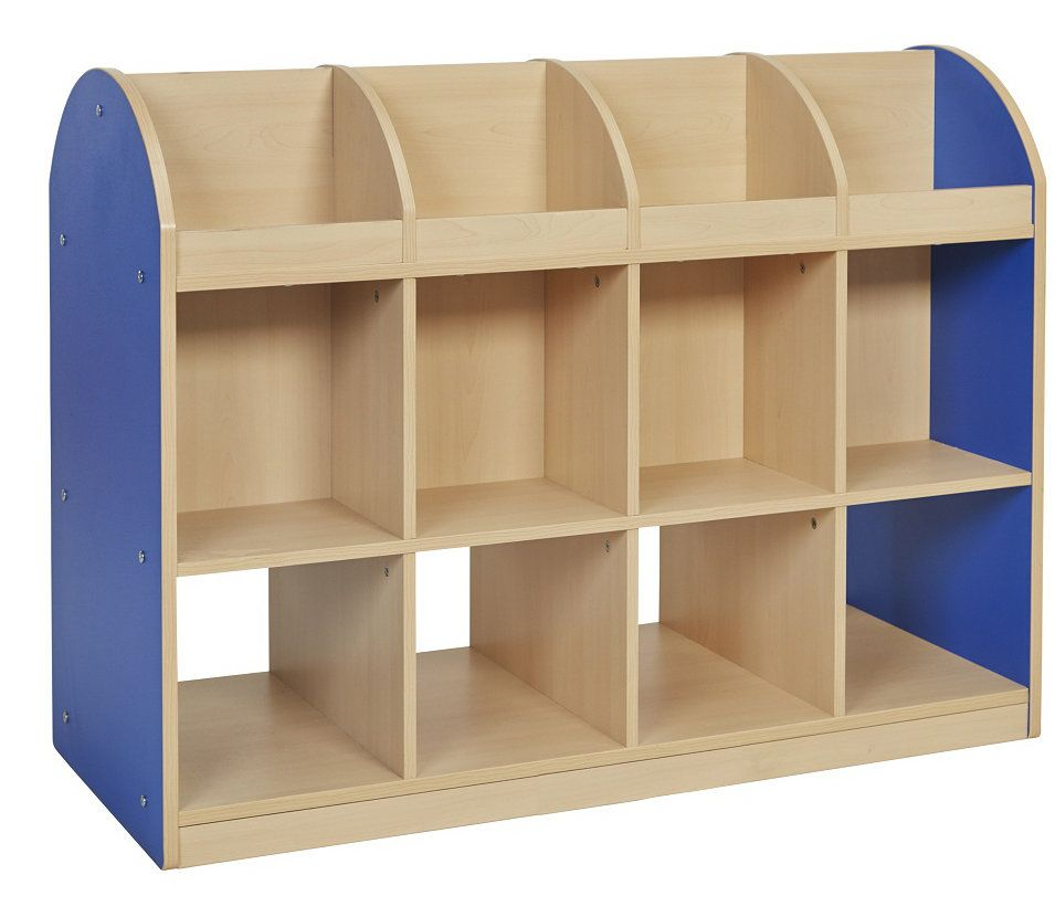 Colorful Essentials Double Sided 4 Compartment Book Display