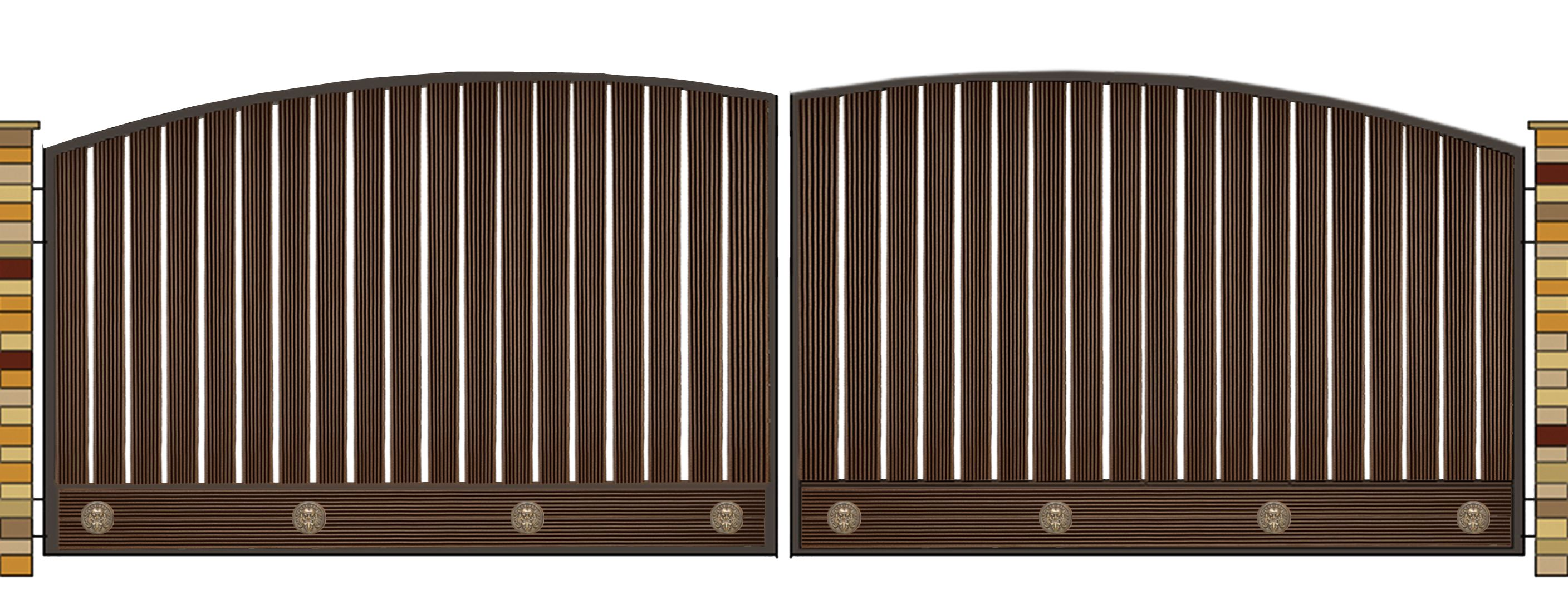 WPC gates and doors by WUDLON Gates