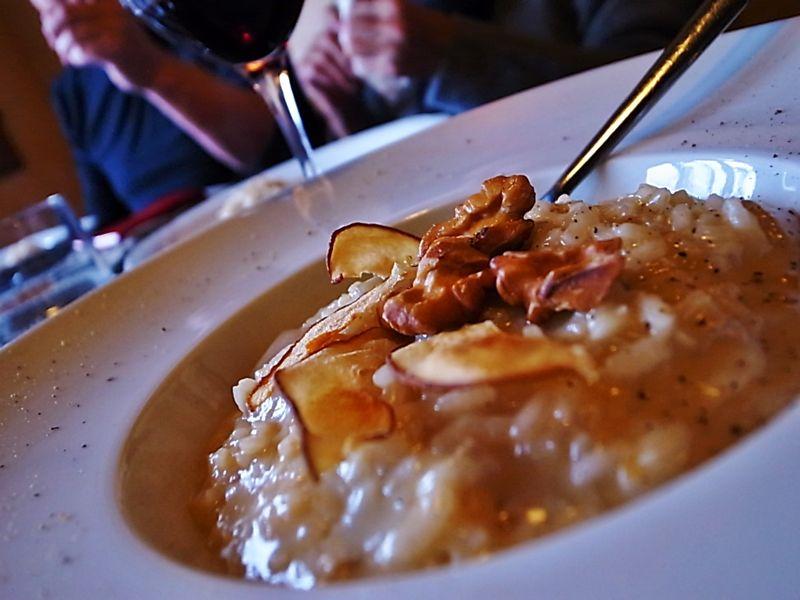 アーモンドトリフ+ポルチーニのリゾット #リゾット #risotto #プリモ #primo #ポルチーニ #美味しい #美食