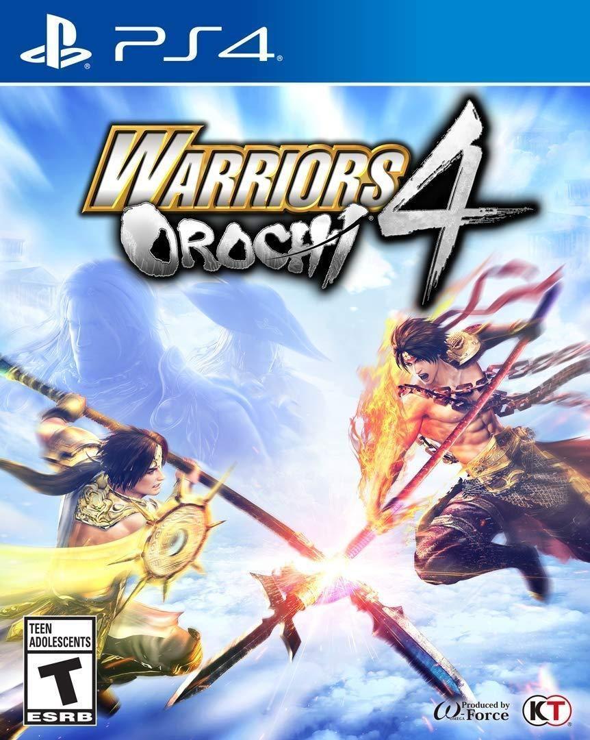 Warriors Orochi 4 PlayStation 4 Warriors orochi 4