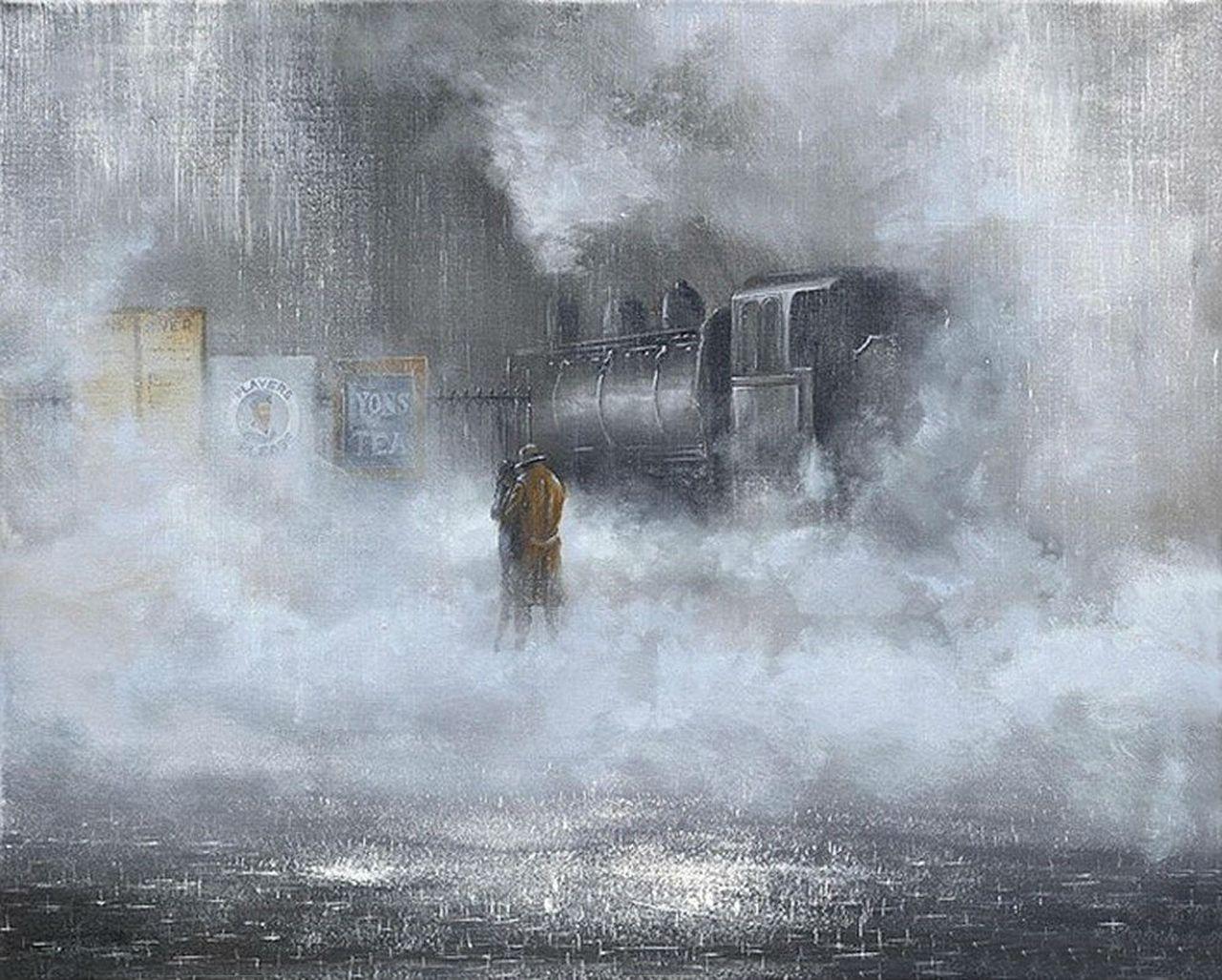 Красивые картинки про любовь   Картины, Художники, Дождь