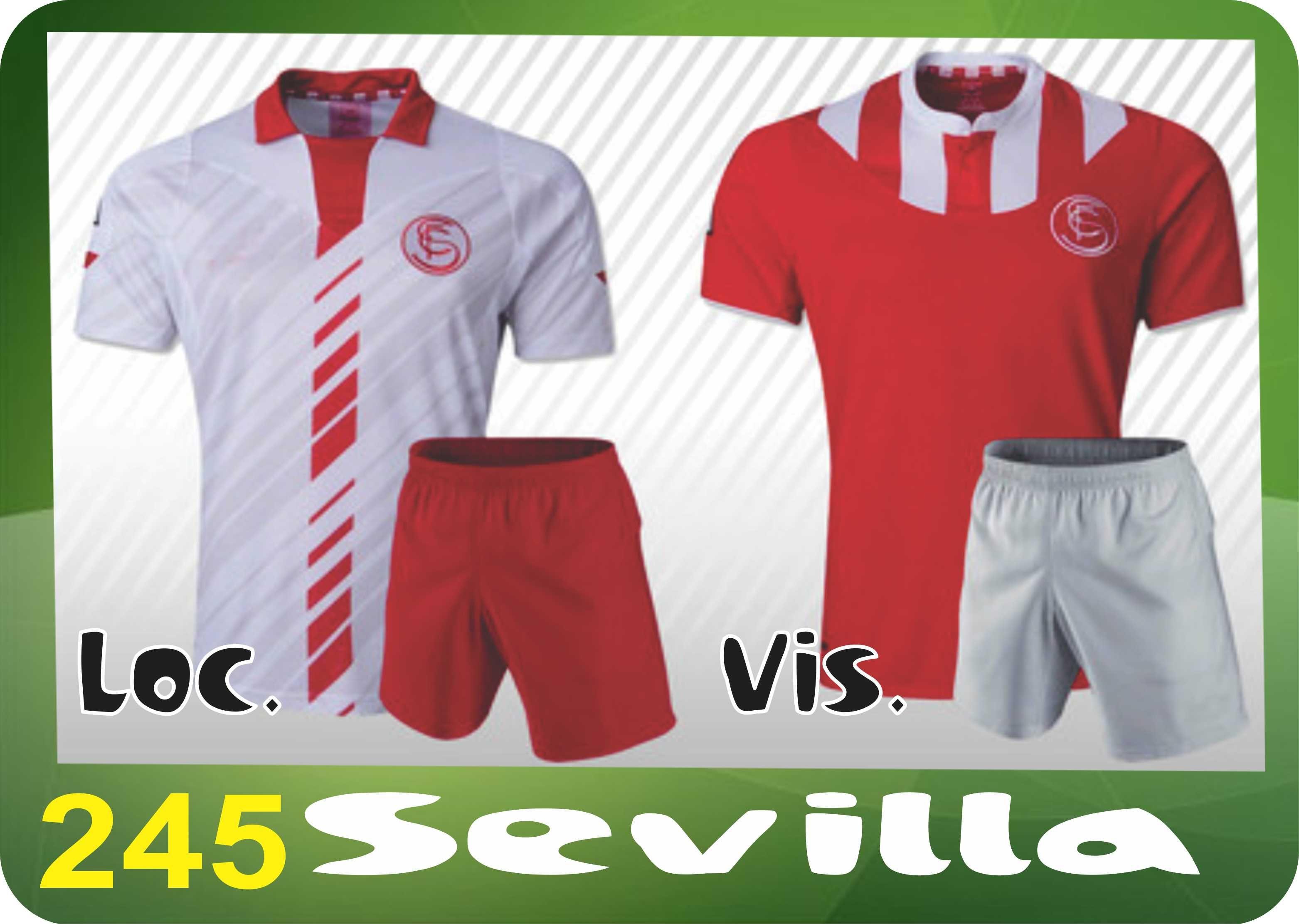 UNIFORME SOCCER DRI FIT Mod 245 SEVILLA Uniformes Futbol Soccer DRI FIT  SPORTIVA Sobre 2d01338fef1ac