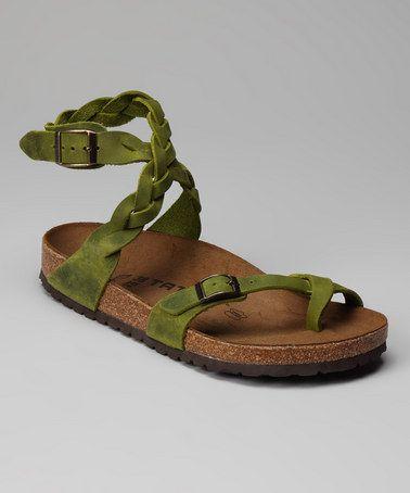 7b0c5e47ba9a Peridot Yara Sandal by Tatami by Birkenstock