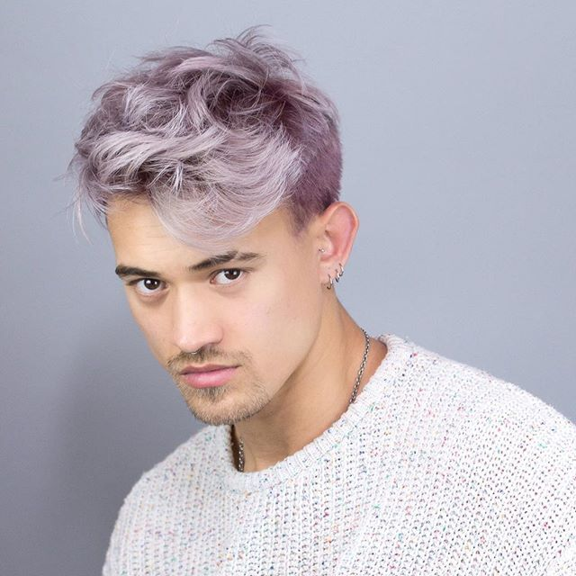 An Entry From P S El L Ve Powered By Tumblr Com Men Hair Color Mens Hair Colour Boys Dyed Hair