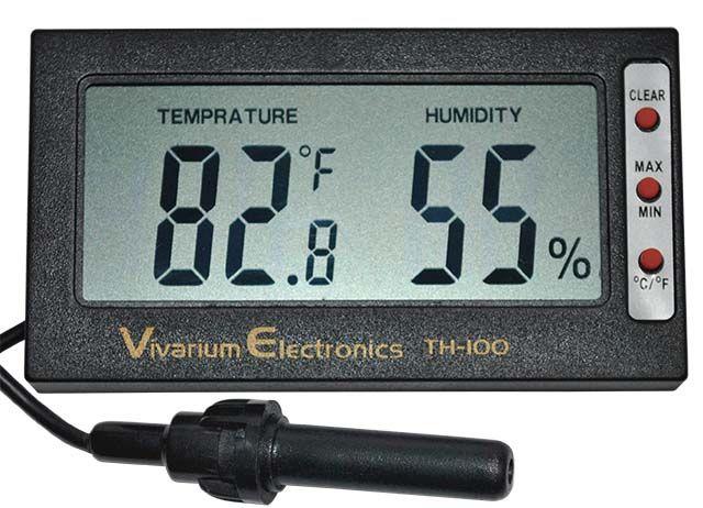 Digital Thermometer/Hygrometer with Hi Lo Memory