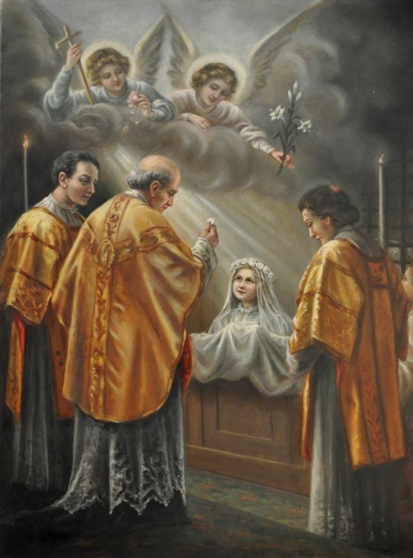 VIE-39 Première communion de Thérèse