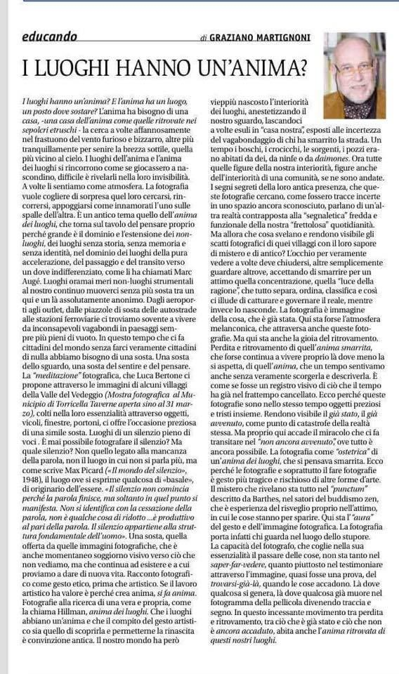 News & Credits – Luca Bertone Projects
