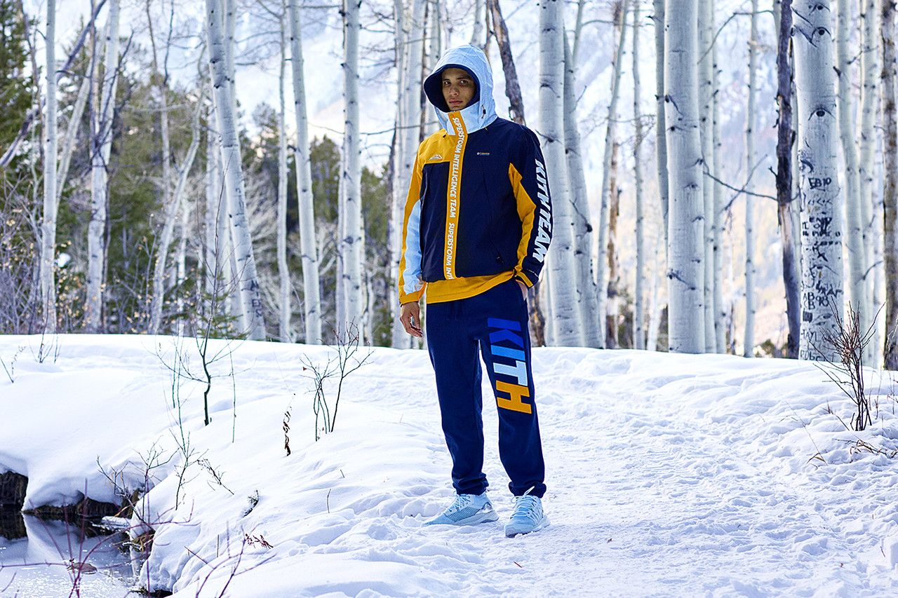 450d6b305 KITH Links up With adidas Terrex, Columbia & More for Aspen 2018 ...