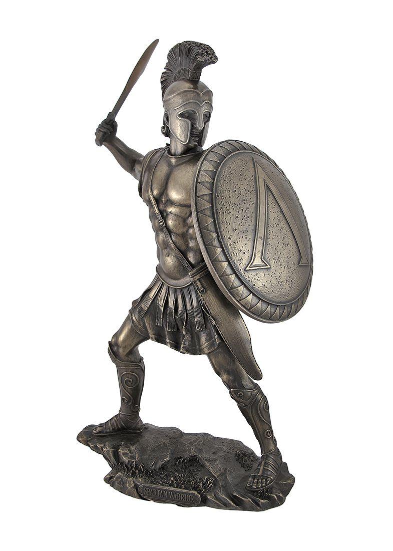 Spartan Warrior Statue | Spartan Equipment | trojan ...