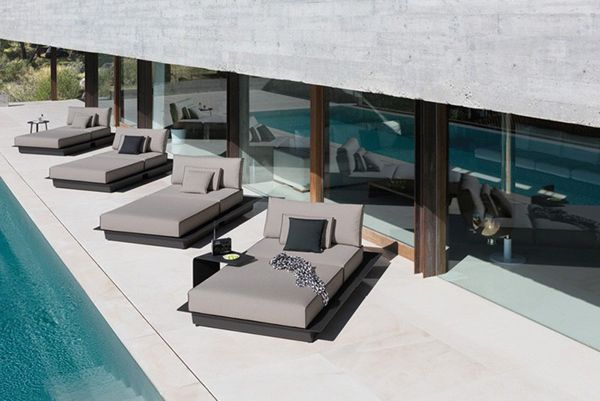 Nice Sleek And Sophisticated Manutti Outdoor Furniture