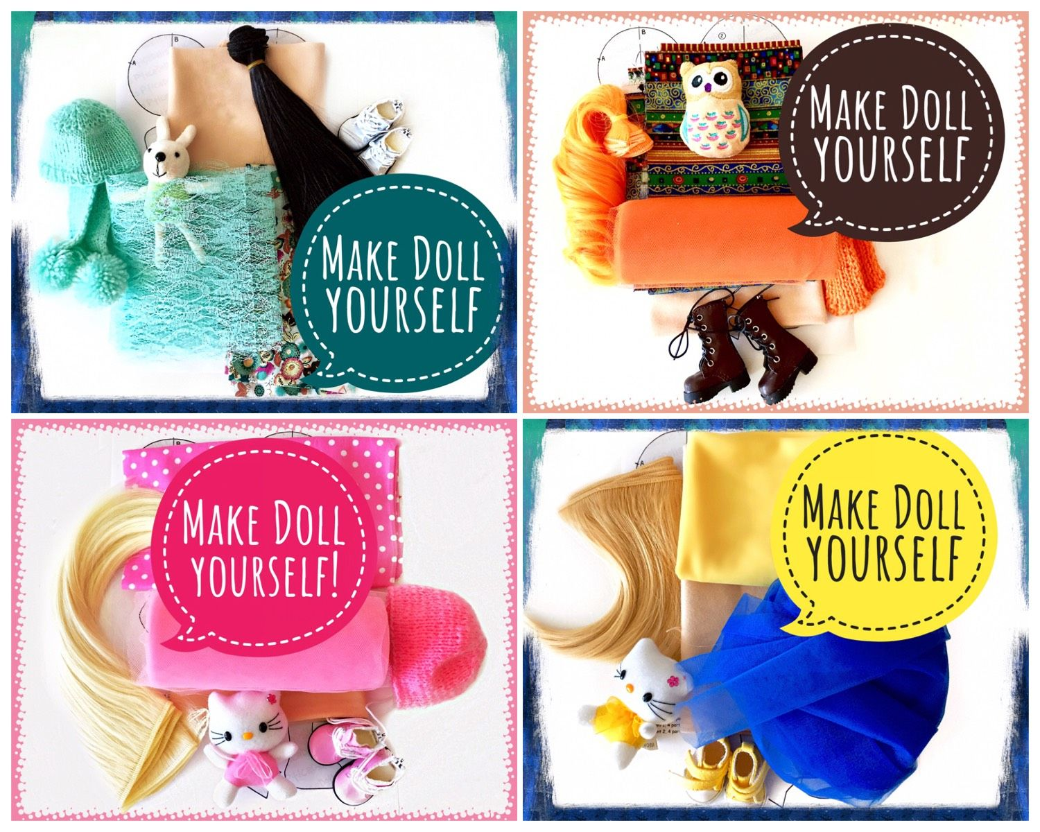 Make a doll yourself! by PticaDolls