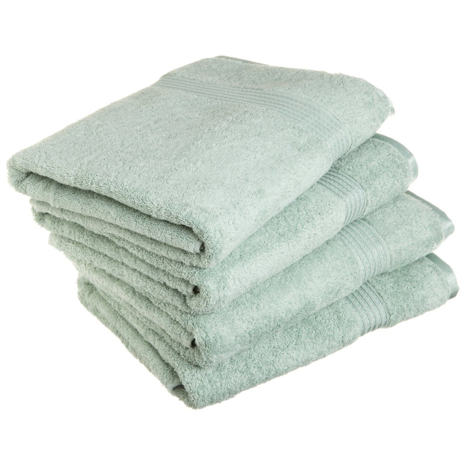 4 Piece Julia Egyptian Cotton Bath Towel Set Bath Towel Sets