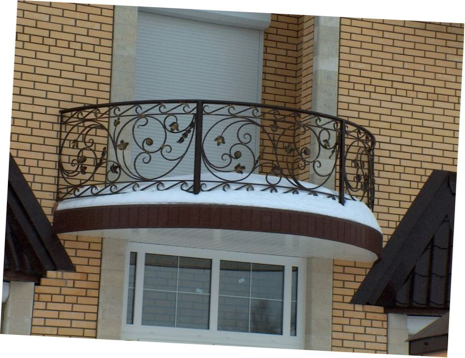 Beautiful ideas for balcony grill design my sweet house for Balcony design