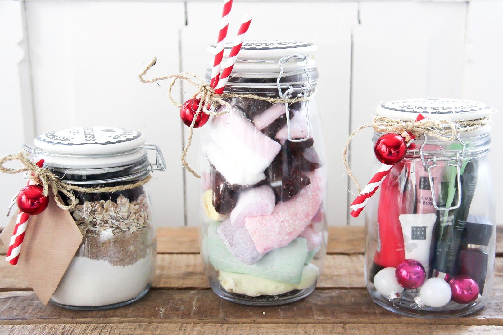 Originele cadeautip: gifts in a jar!