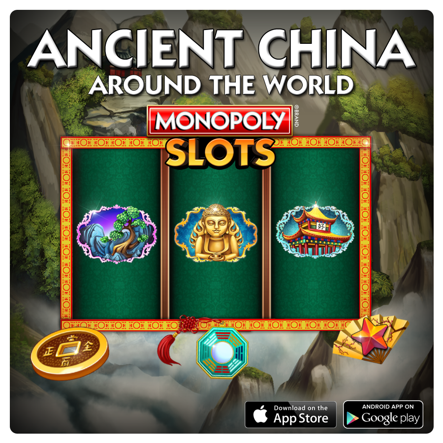 Ancient China Slot Around the World Suite. 3x4x5x4x3