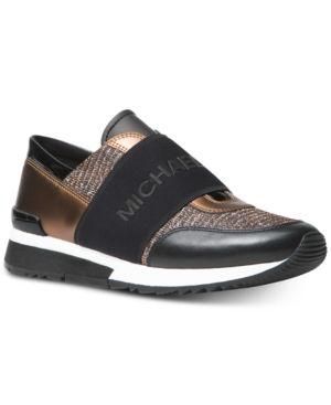 975239714fd36 Michael Michael Kors Mk Trainer Sneakers - Silver 5M in 2018 ...