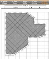Discover A Free Tile Calculator For Your Home Projects Tile Layout Tiles Floor Layout