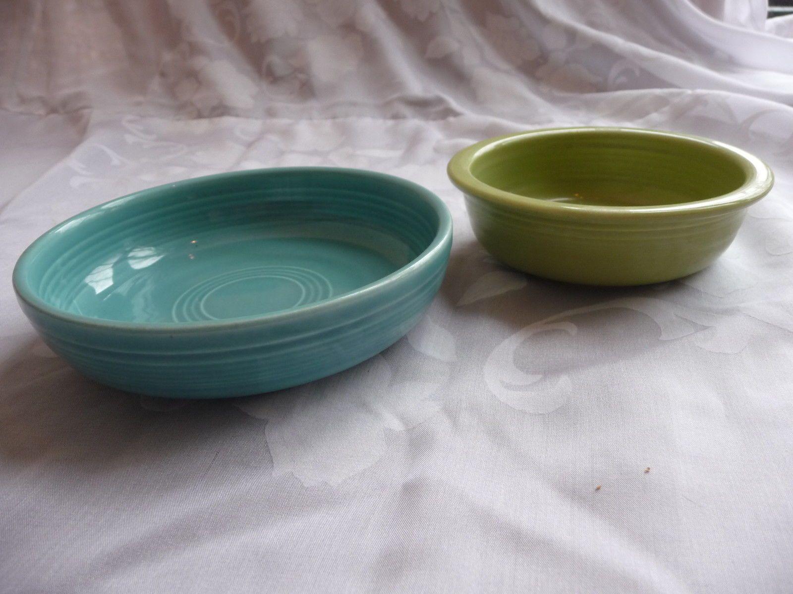 Fiesta bowl & Lot of 2 Vintage Fiesta Bowls - 4 3/4
