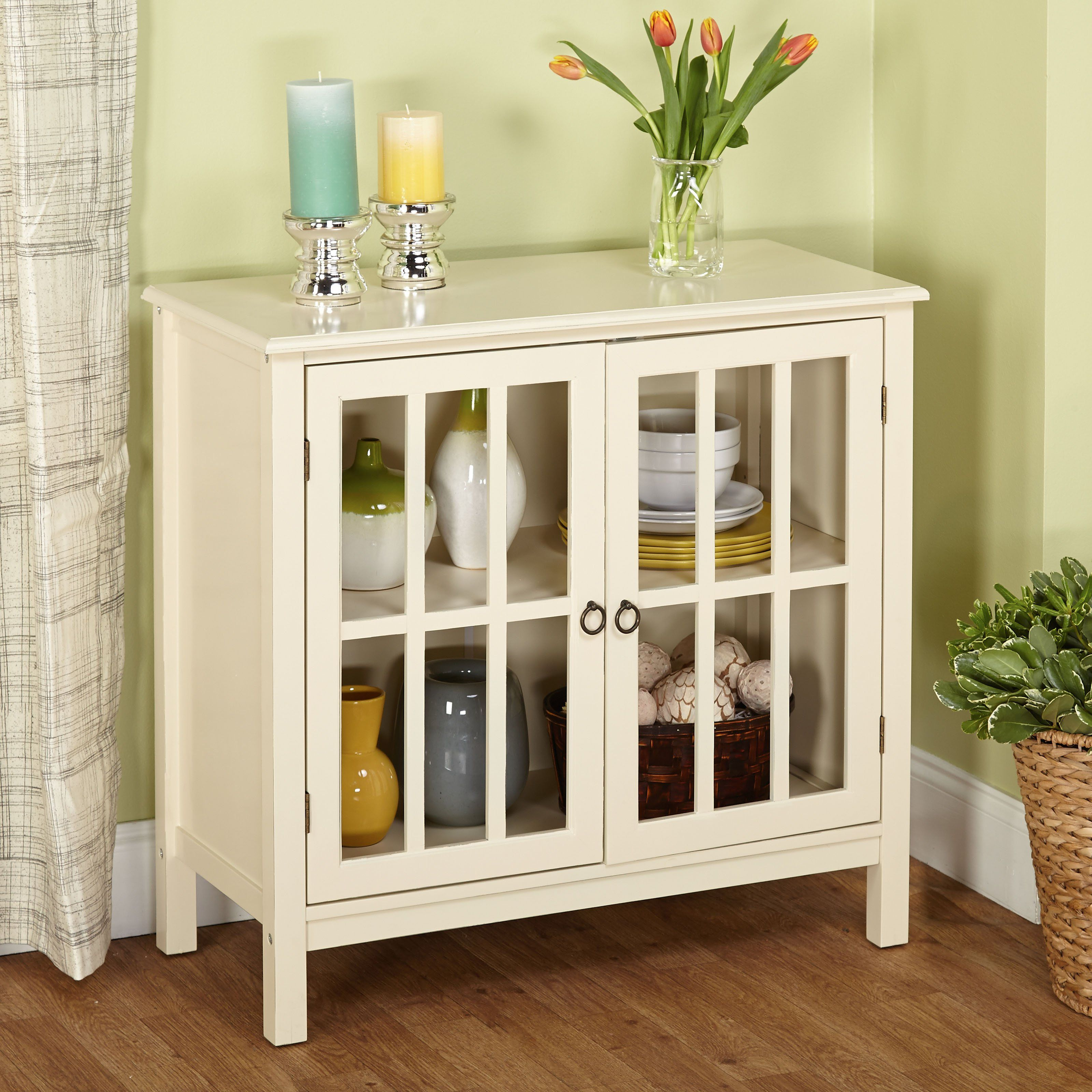 Target Marketing Systems Portland Cabinet 13080blk Glass Cabinet Doors Antique White Cabinets Furniture