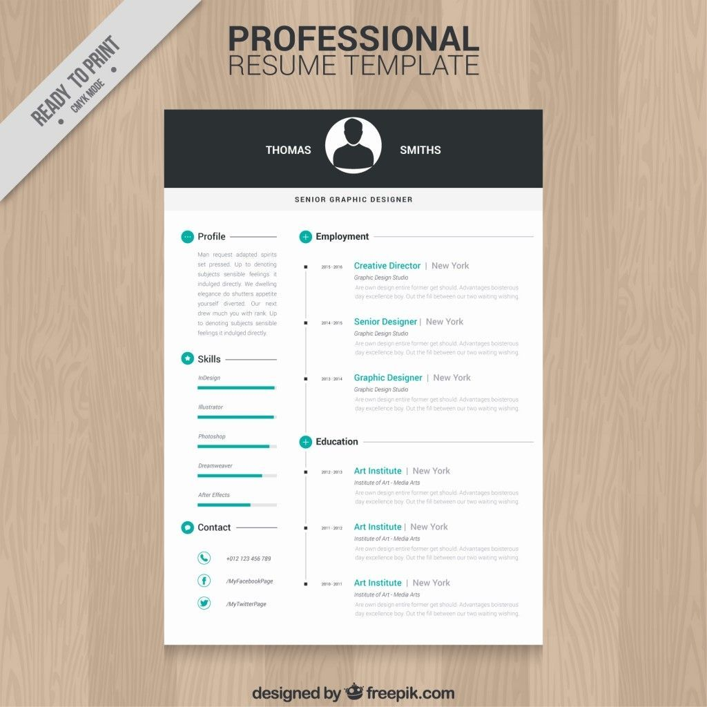 Editable Free Creative Resume Templates in 2020 (With