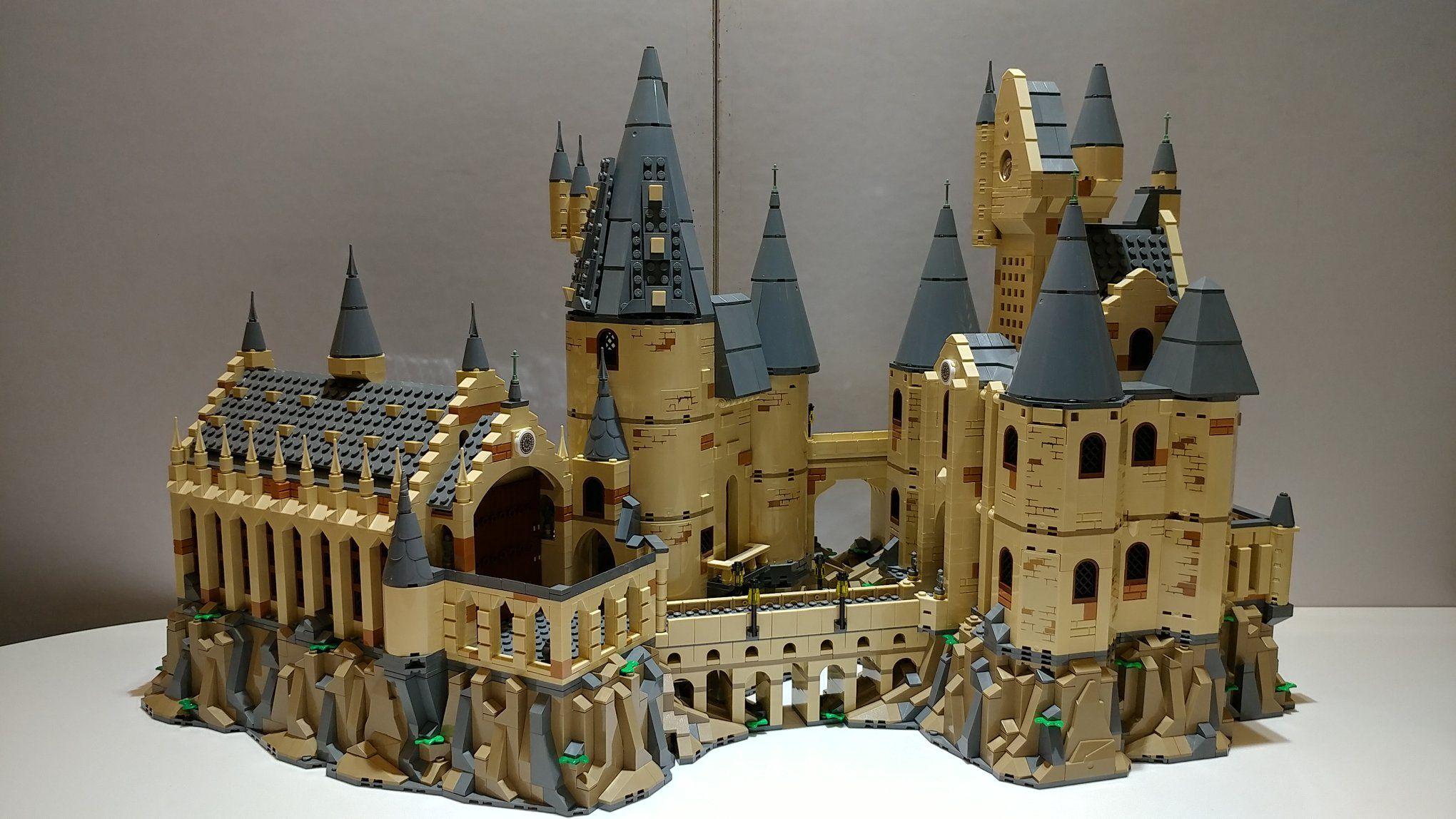 Moc Hogwarts Castle Modified Sets 75953 75954 75948 Hogwarts Castle Hogwarts Lego Harry Potter