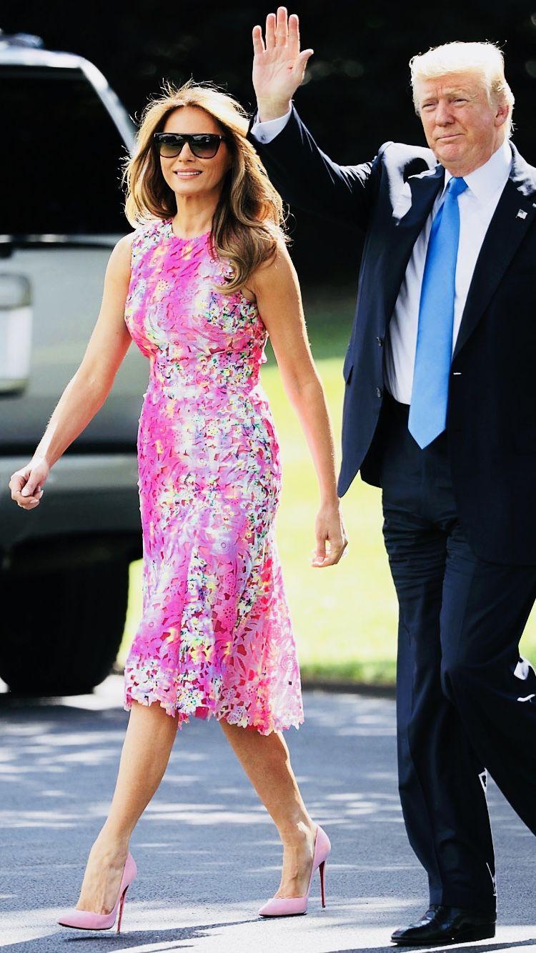 Knauss Warming Party Tba Milania Trump Style First Lady Melania Trump First Lady Melania