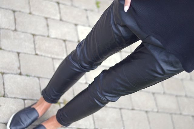 "Baggy ""Leather""pants"