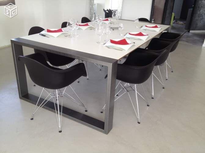 Table Metal Design Ameublement Maine Et Loire Leboncoin Fr Ameublement Table Metal Metal Design