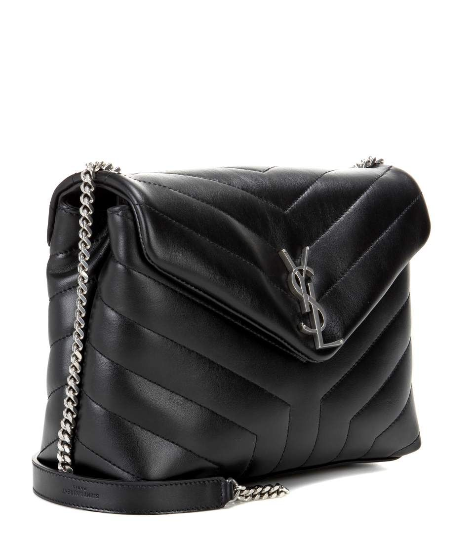 Saint Laurent - LouLou Monogram Small leather shoulder bag | mytheresa.com
