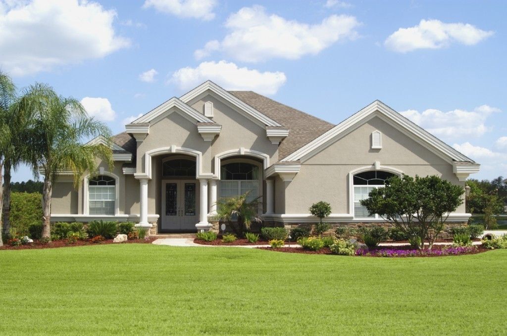 Stucco House Colors Houses Siding Exterior Paint For